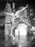 Fred Astaire Dancing and Leaping Photo by  Movie Star News