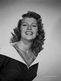 Rita Hayworth laughing in Portrait Photo by Robert Coburn