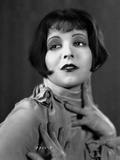 Clara Bow Looking Away in Portrait Photo by ER Richee