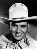 Gene Autry Happy in Cowboy Outfit Photo by  Movie Star News