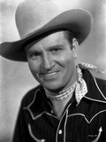 Gene Autry smiling in Western Hat Photo by  Movie Star News