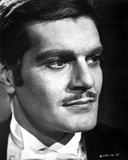 Omar Sharif Portrait in Classic Photo by  Movie Star News