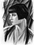 Louise Brooks in Animated Portrait Photo by  Movie Star News