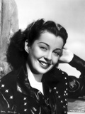 Gail Russell smiling in Portrait Photo by  Movie Star News