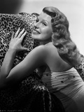 Rita Hayworth Posed with a Smile Photo by Robert Coburn