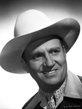 Gene Autry smiling in Cowboy Hat Photo by  Movie Star News