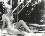 Julie Newmar in Lingerie Portrait Photo by  Movie Star News