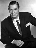 Milton Berle smiling in Black Suit Photo by  Movie Star News