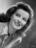 Katharine Hepburn smiling Portrait Photo by CS Bull