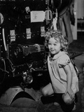 Shirley Temple Squatting in Dress Photo by  Movie Star News