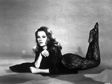 Luciana Paluzzi Lying in Classic Photo af Movie Star News