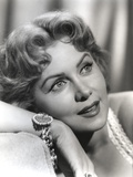 Rhonda Fleming Looking Up Portrait Photo by  Movie Star News