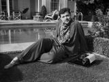 Orson Welles Reclining in Classic Photo by Alexander Kahle