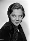 Sylvia Sidney wearing a Black Coat Photo by  Movie Star News