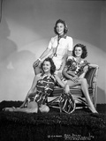 Rita Hayworth Posed with Two Women Photo by  Movie Star News