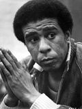Richard Pryor Posed in Black Suit Photo by  Movie Star News