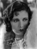 Evelyn Brent Portrait in Classic Photo by  Movie Star News