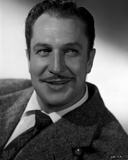 Vincent Price smiling in Portrait Photo by  Movie Star News