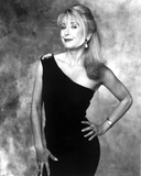 Teri Garr Posed in Black and White Photo by  Movie Star News