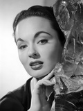 Ann Blyth on an Embroidered Top Photo by  Movie Star News