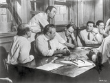 Twelve Angry Men in Meeting Scene Photo by  Movie Star News