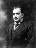 Enrico Caruso Posed in Black Suit Photo by  Movie Star News