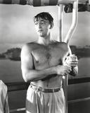 Robert Mitchum Poses Half-Naked Photo by  Movie Star News