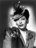 Gale Sondergaard Posed in Hat Photo by  Movie Star News