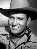 Gene Autry Grinning in Portrait Photo by  Movie Star News