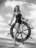 Rita Hayworth in Swimming Suit Photo by Robert Coburn