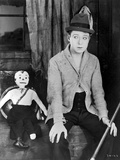 Harry Langdon Posed in Classic Photo by  Movie Star News