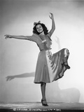 Rita Hayworth Doing a Ballet Photo by A.L. Schafer