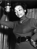 Eartha Kitt singing in Classic Photo by  Movie Star News