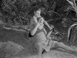 Johnny Weissmuller Fight Scene Photo by  Movie Star News