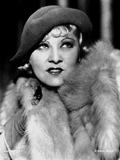 Mae West Dressed in Furry Coat Photo by  Movie Star News