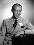 Fred Astaire Leaning in Suit Photo by Hal McAlpin