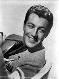 Robert Taylor posed with Horse Photo by  Movie Star News