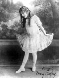 Mary Pickford on a Balet Attire Photo by  Movie Star News