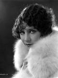 Viola Dana Posed in Fur Garment Photo by  Movie Star News