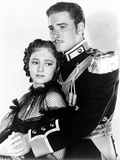 Errol Flynn with Woman Portrait Photo by  Movie Star News