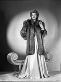 Rita Hayworth in Furry Coat Photo by Robert Coburn