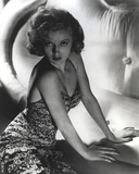 Lana Turner Posed wearing Gown Photo by  Movie Star News