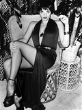 Liza Minnelli Seated in Classic Photo by  Movie Star News
