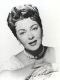 Lana Turner Close Up Portrait Photo by  Movie Star News