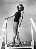 Rita Hayworth Posed in Black Photo by  Movie Star News