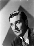 Walter Pidgeon posed in Suit Photo by  Movie Star News