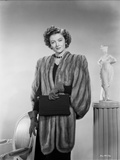 Myrna Loy posed in Furry Coat Photo by Gaston Longet