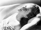 Susan Hayward Lying in a Dress Photo by  Movie Star News