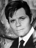 Jack Lord Posed in Black Suit Photo by  Movie Star News