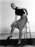 Betsy Palmer Seated in Classic Photo by  Movie Star News